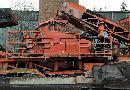 TESAB-Prallmühle-Brecher und Brecheranlagen: mobile: Prallbrecher