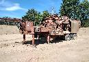 O&K/KRUPP-125/125-crushing plants  : mobile  : rebounce/impact crusher