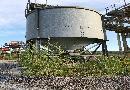 Puffersilo-sonst. Maschinen und Aggregate: Aufgabetrichter, Silos und Behälter